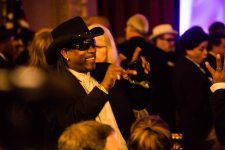 Rockin' Dopsie at Allen Toussaint funeral