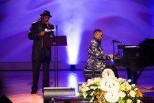 Cyril Neville at Allen Toussaint funeral