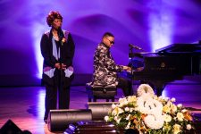 Irma Thomas at Allen Toussaint funeral