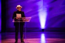 Elvis Costello at Allen Toussaint funeral