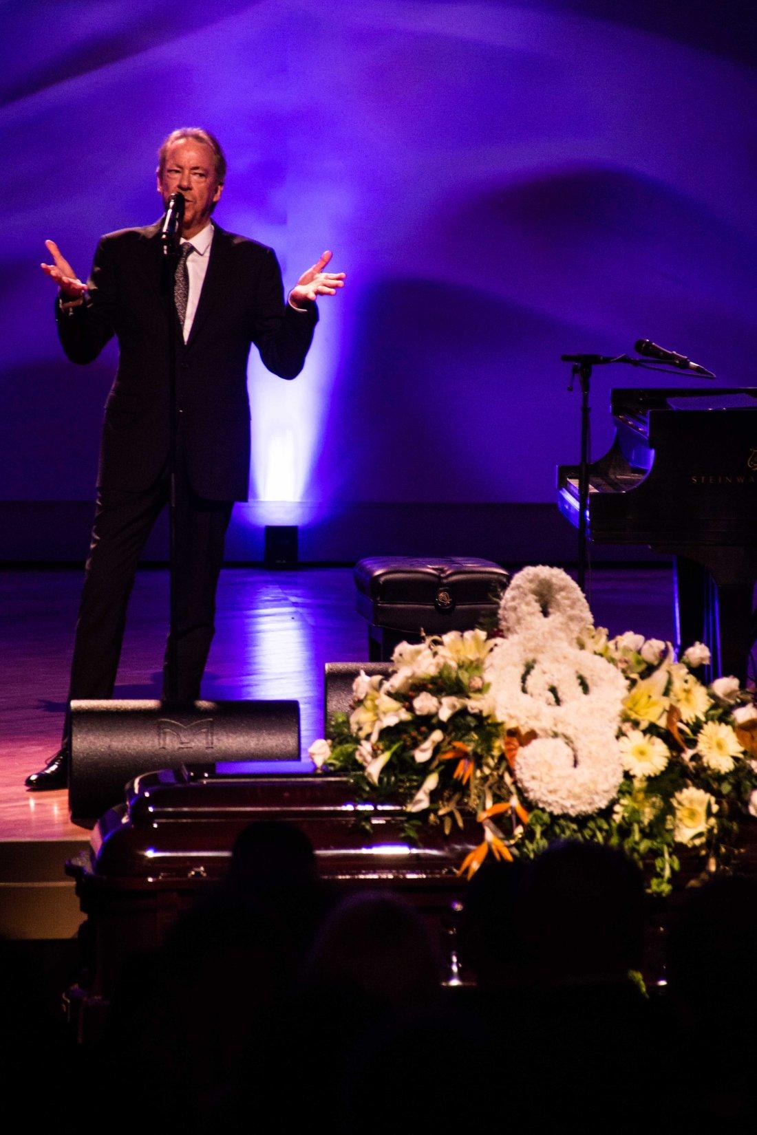 at Allen Toussaint funeral