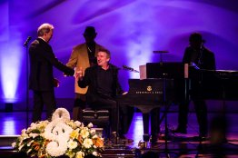 Jon Cleary at Allen Toussaint funeral