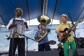 French Quarter Fest 2016 - Tin Men