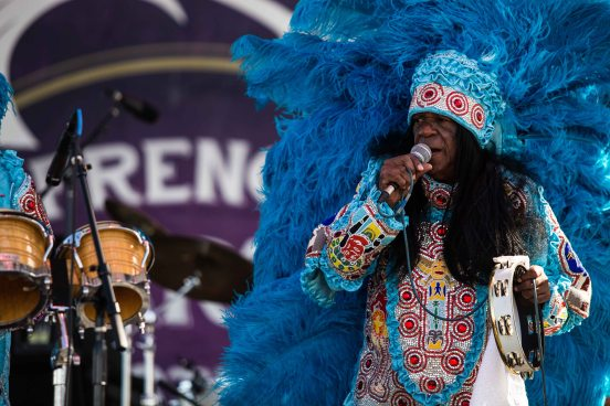 Big Chief Monk Boudreaux, French Quarter Fest, 2016
