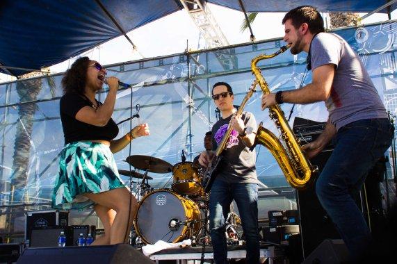 French Quarter Fest 2016 - Robin Barnes, Pat Casey, Brad Walker