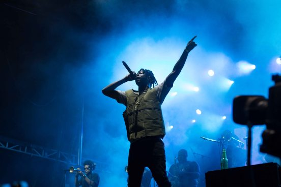 Joey Bada$$ with the Soul Rebels, Voodoo Fest, 2016