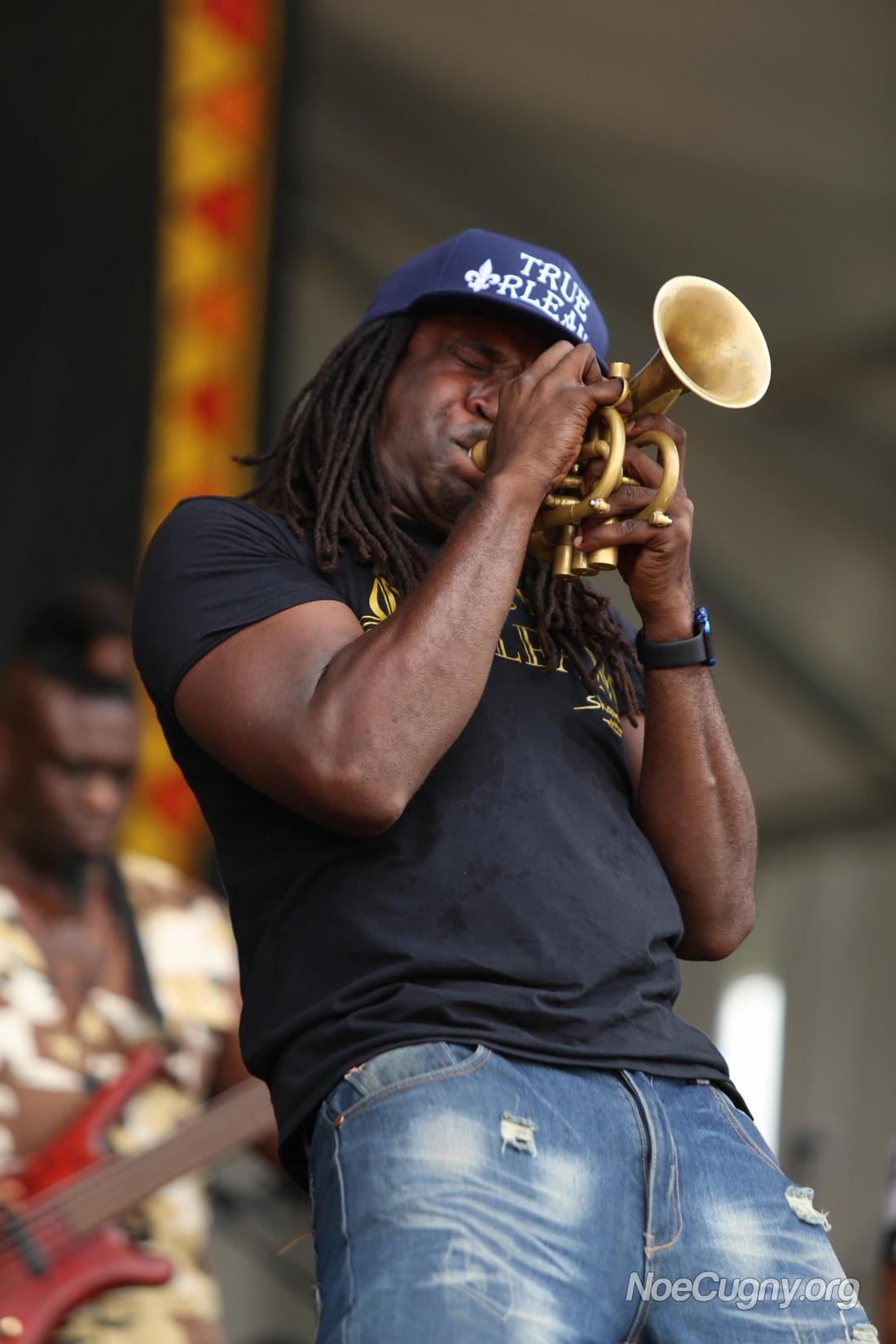 New Orleans Jazz Fest 2016 - Shamarr Allen
