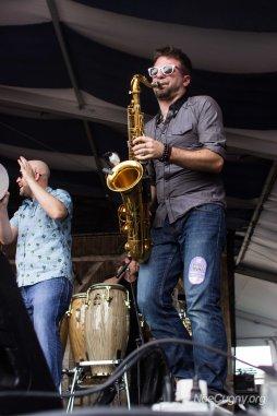 New Orleans Jazz Fest 2016 - Brad Walker