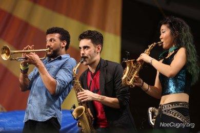 New Orleans Jazz Fest 2016 - Jon Batiste & Stay Human