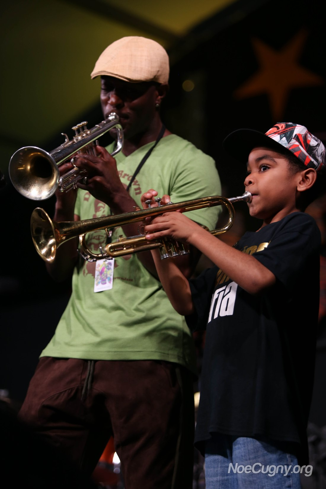 New Orleans Jazz Fest 2016 - Trumpet Mafia