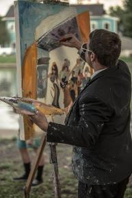 Bayou Boogaloo 2016 - Live Painting