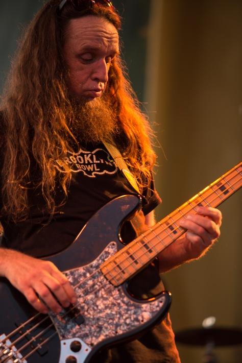 Bayou Boogaloo 2016 - Anders Osborne (bass)
