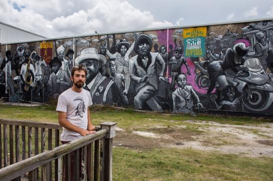 Henry Lipkis, Third Line Mural, Second Line, Saint Claude