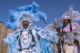 JF17- Big Queen Mardi Gras Indian