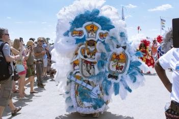 JF17- Mardi Gras Indian