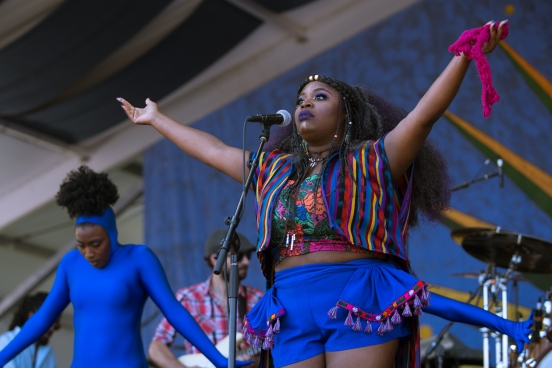 Tank and the Bangas, Jazz Fest, 2017