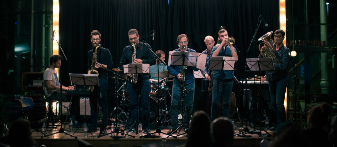 Onze Heure Onze Orchestra. Photo: Noé Cugny