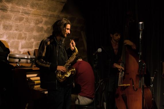 Thomas Gomez, Zoot Jam, La Cave Café