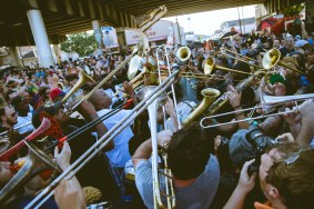 Second Line, New Orleans, 2019.
