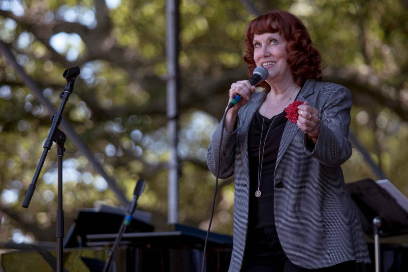 French Quarter Fest 2018 - 04/12/18 - Banu Gibson - Photo Noé Cugny