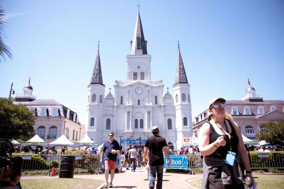 French Quarter Fest 2018 - 04/12/18 - Saint Louis Cathedral - Photo Noé Cugny