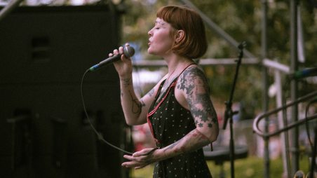 French Quarter Fest 2018 - Meschiya Lake & the Little Big Horns