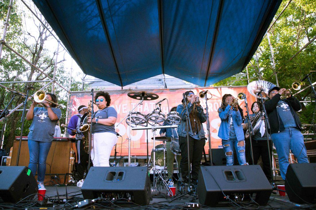 French Quarter Fest 2018 - Original Pinettes Brass Band