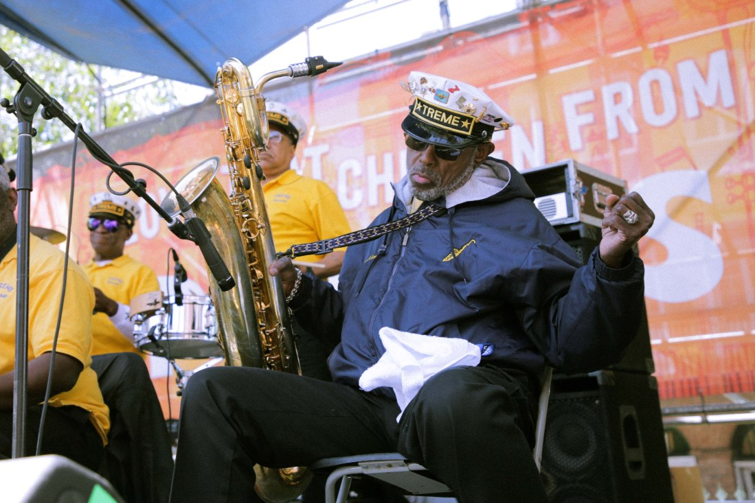 French Quarter Fest 2018 - Treme Brass Band - Roger Lewis