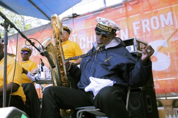 French Quarter Fest 2018 - Treme Brass Band - Roger Lewis