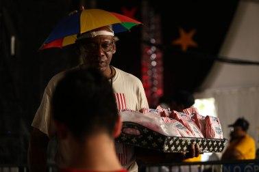 Peanut vendor, New Orleans, 2016