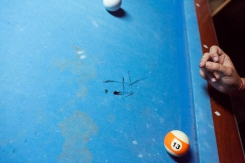 Pool Table, New Orleans, 2018