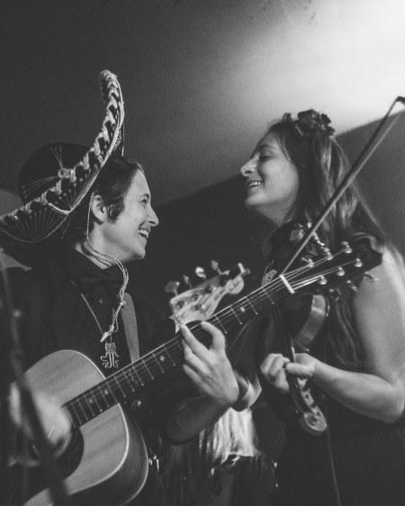 Kyndra, Gina, Sidney's Saloon, New Orleans, 2018