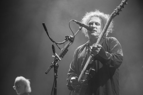 Robert Smith, The Cure, New Orleans, 2016